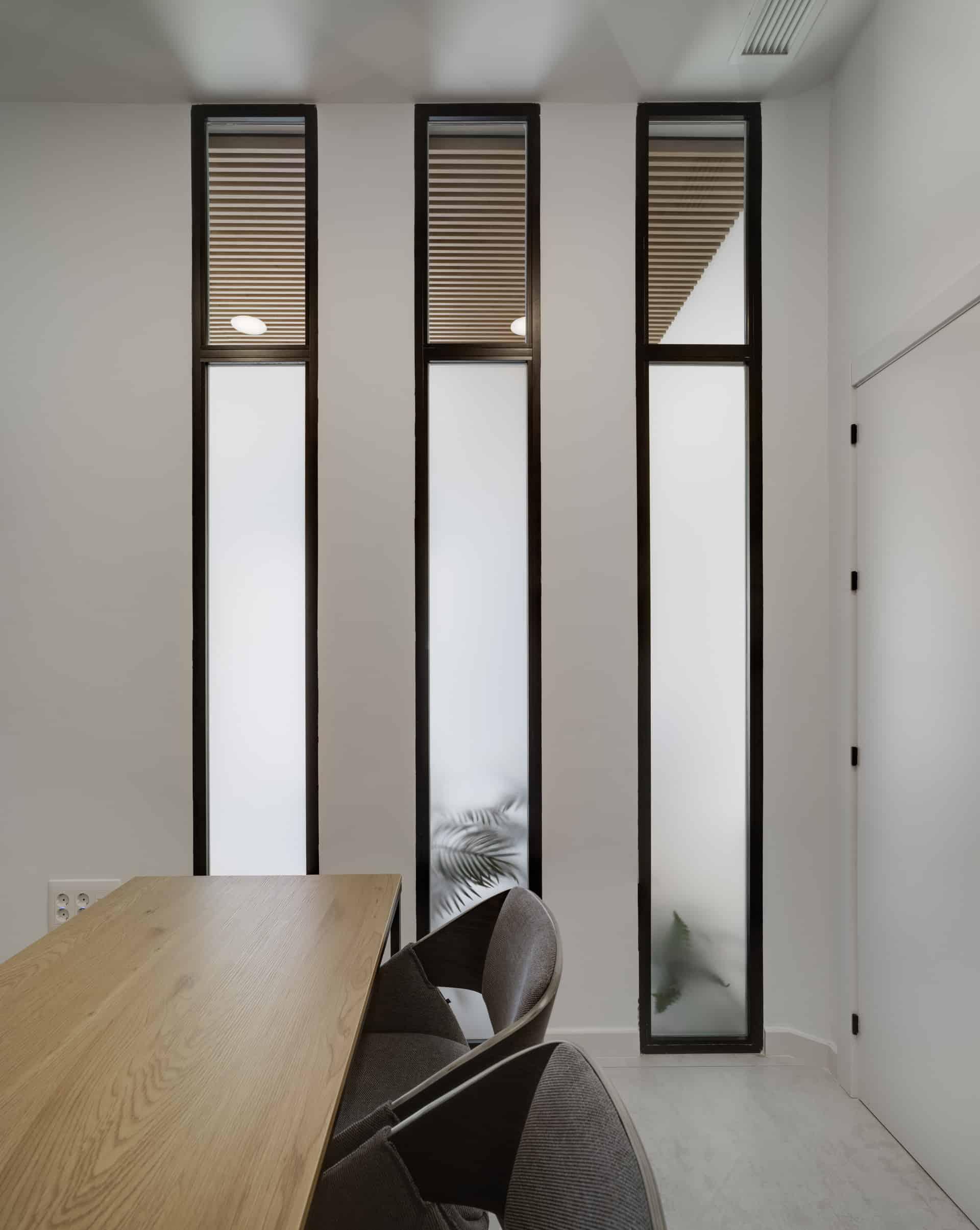 Vista interior del despacho.